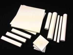 Alumina Technical Ceramic Sheets, Rods and Bars.