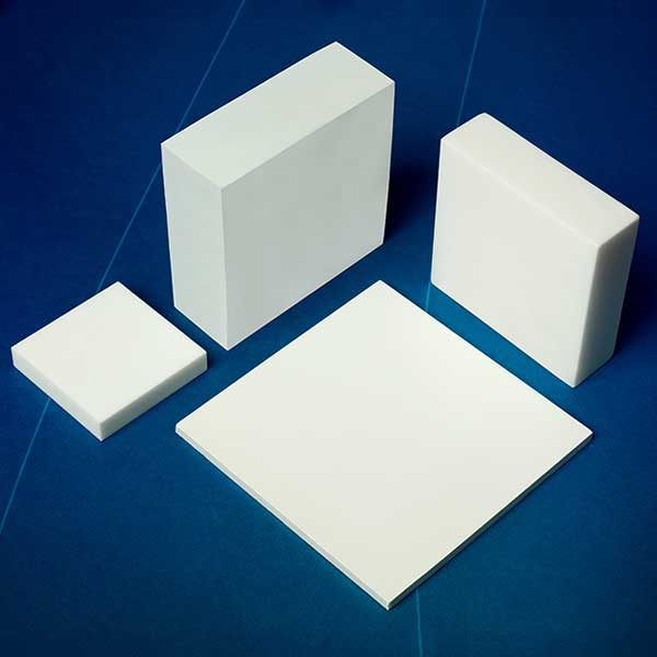 Macor Square Plate