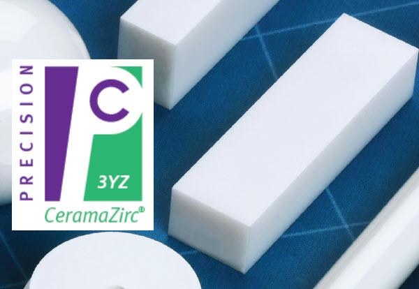 Ceramic Material - CeramaZirc 3YZ (Sintered Zirconia)