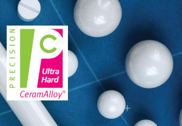 Ceramic Material - CeramAlloy (Ultra Hard Zirconia-Alumina Composite)
