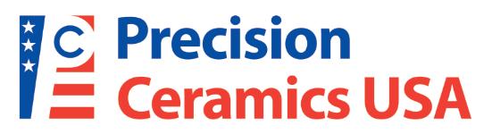 Precision Ceramics USA Logo