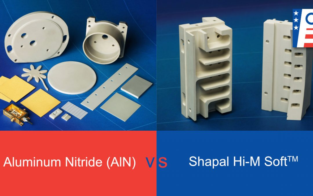 Aluminum Nitride (AlN) vs Shapal