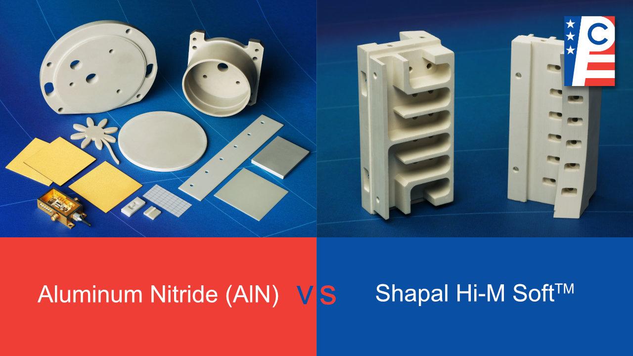 Aluminum Nitride vs Shapal Blog Feature Image